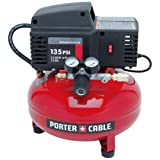Porter-Cable PCFP02003R 135 PSI 3.5 Gallon Oil-Free Pancake Compressor (Certified Refurbished)