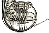 Monel Rotors Bb/F 4 Keys Double French Horn w/Case
