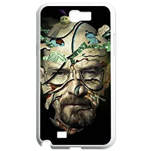 Breaking Bad SamSung GalaxyNote 2 N7100 White phone cases&Holiday Gift