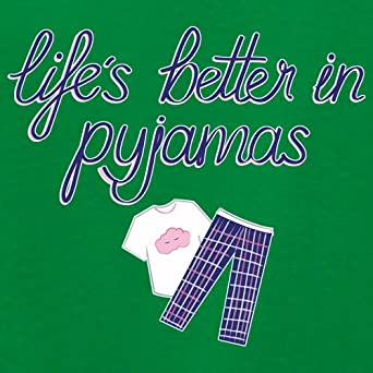 1-13 Years 9 Colours Dressdown Life is Better in Pyjamas Kids Hoodie