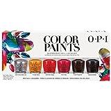 OPI Mini Kit Esmalte de Uñas, Tono Paints - 6 x 3.75 ml