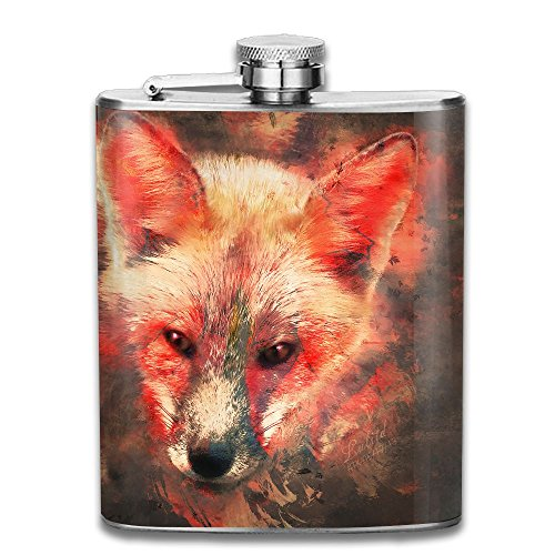 Fire Fox Portable Alcohol Drink Bottle Outdoor Sport Hip Wine Stainless Steel Flask & Funnel Set,7 - Chicago Hip Mall The