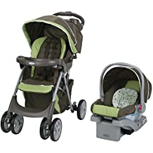 Graco® Comfy Cruiser Click Connect Travel System with SnugRide Click Connect 30 Car Seat Zoofari