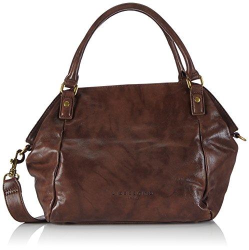 Metallic Suede Handbag - 5