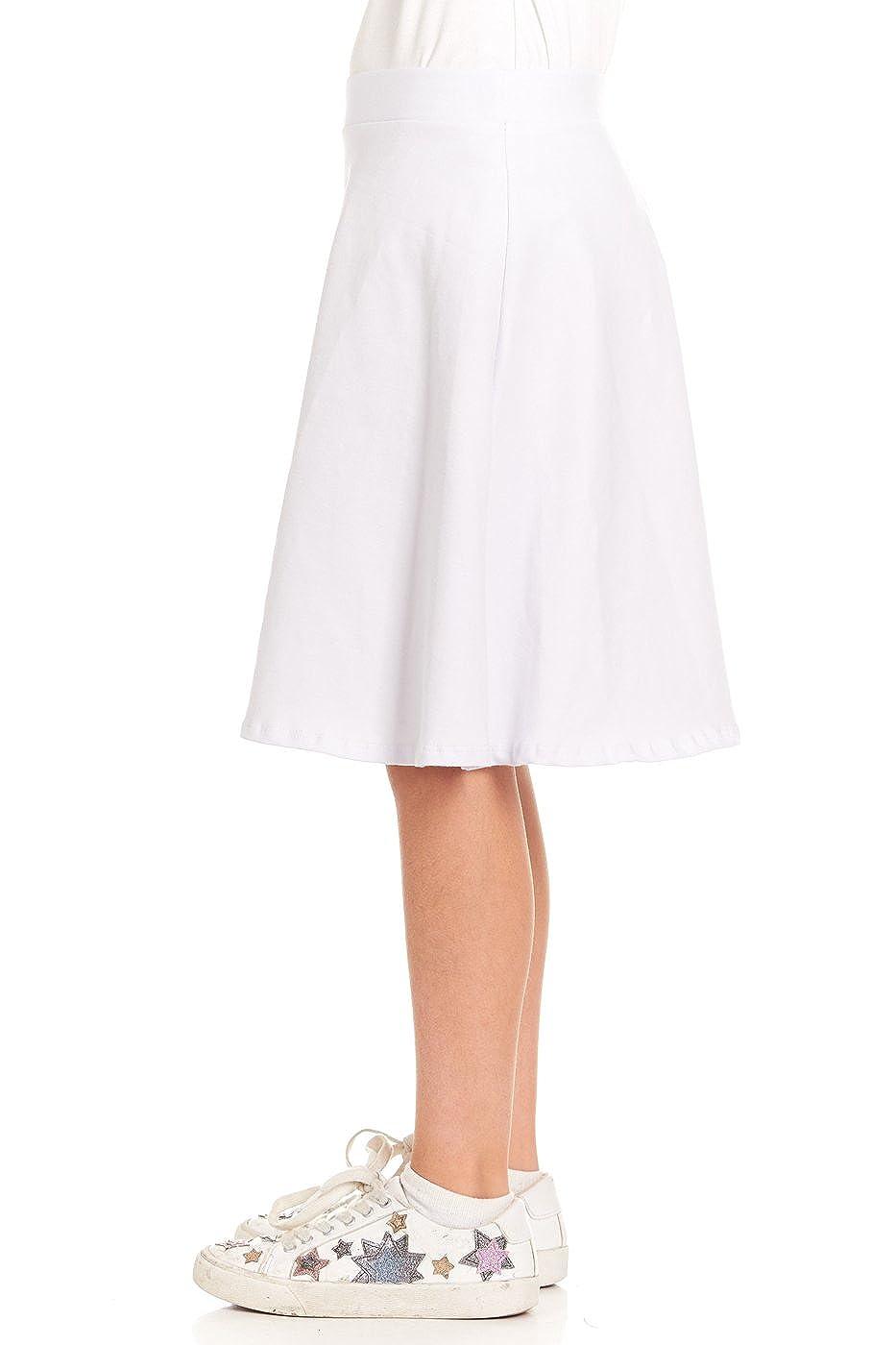 Pink Mint Kids A-line Cotton Skirt