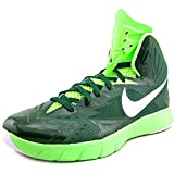 Nike Men's Zoom Hyperquickness Basketball Shoes (12.5 D(M) US, Green/Silver)