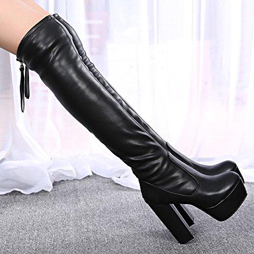 High Heels im Herbst und Winter Hochhackige Schuhe Stiefel Schuhe Stiefel Schuhe Stiefel Etc.