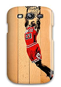 michael jordan chicago bulls nba basketball red boards NBA Sports & Colleges colorful Samsung Galaxy S3 cases 6011398K352669016