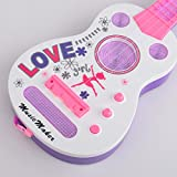 Guitar-WOLFBUSH-Simulation-4-String-Flash-Mini-Guitar-Kids-Musical-Instruments-Educational-Toy-Pink