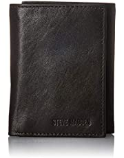 Steve madden Leather Trifold Wallet With Id Window