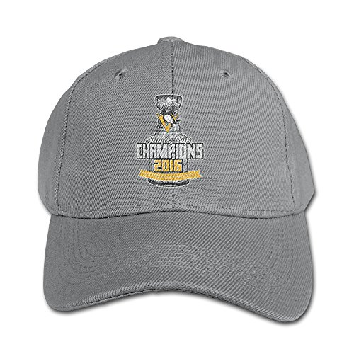 Pittsburgh Penguins'47 White 2016 Stanley Cup Champions Cute Kids Plain Adjustable Brim Cap Graphic Print Baseball Sports Caps