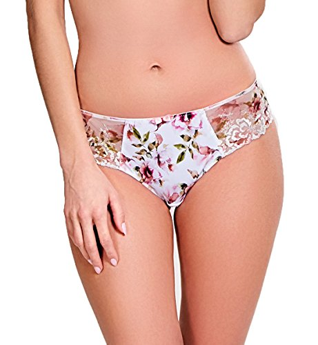 Panache Thea Matching Brief #9263,Large,Floral Print ()
