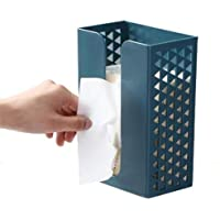 Muswanna-D Kitchen Tissue Box, Wall-Mounted Drawer Box, Toilet Paper Holder, Toilet Tissue Storage Box with Adhesive…