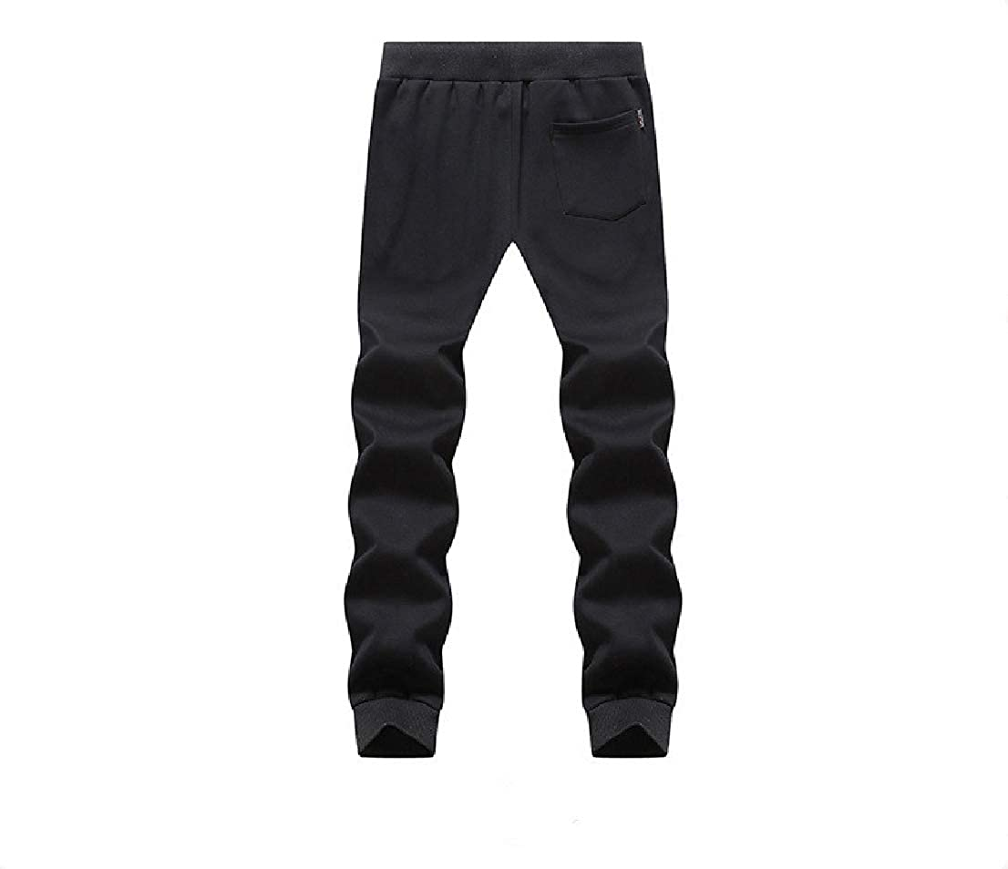 BAYYMen Solid Athletic Cotton Knit Casual Harem Pants