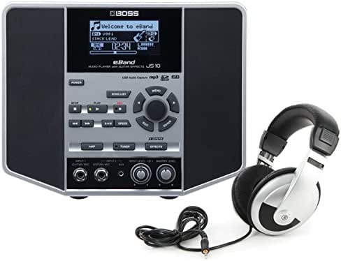 BOSSeBand JS-10 Audio Player with Guitar Effects w/Headphones