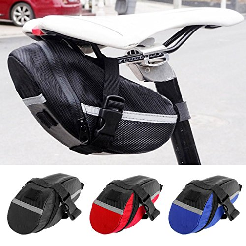 Aixia Bicycle Saddle Bag Tail Rear waterproof Bike pouch Outdoor