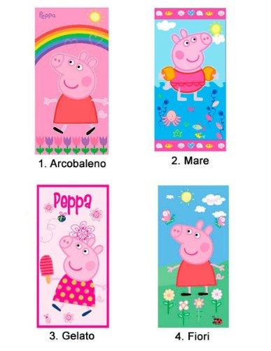 Toalla Toalla Playa Peppa Pig – Toalla de playa original Peppa Pig – Modelo color 4