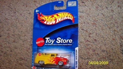 56 Ford Panel Truck Mattel Toy Store Blown Hot Rod (Hot Rod Ford Trucks)