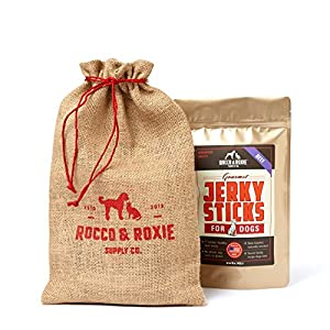 Rocco & Roxie Gourmet Jerky Dog Treats - Slow Smoked, Delicious, Tender AND Healthy 7