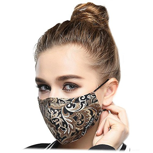 Ayygift-1-Pcs-New-Arrival-PM25-Unisex-Face-Mask-Pure-Cotton-Antidust-Mouth-Mask-Coffee