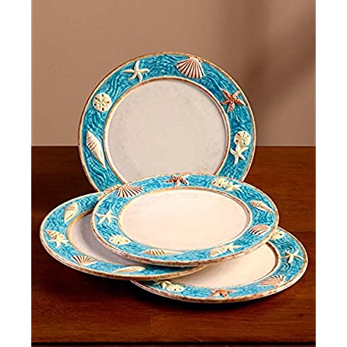 sc 1 st  Amazon.com & Beach Themed Dinnerware Sets: Amazon.com