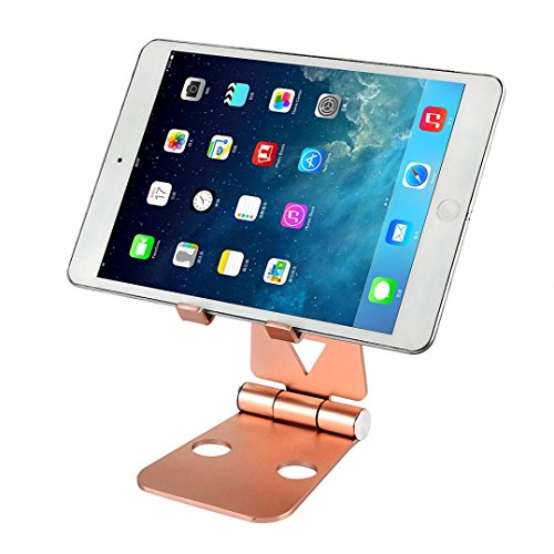 Price comparison product image Voberry New Aluminum Charging Dock Station Charger Holder Stand For iPhone Apple Watch (Rose Gold)