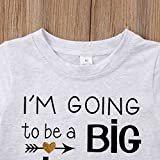 Gaono 2018 Baby Girl Clothes Outfit Big Sister
