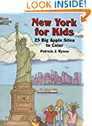 #4: New York for Kids: 25 Big Apple Sites to Color (Dover Coloring Books)