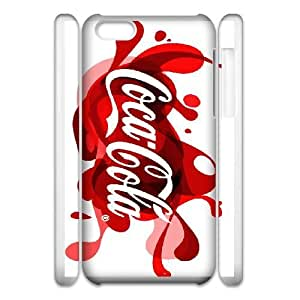 Protective TPU cover case Coca Cola iphone 5c Cell Phone Case 3D