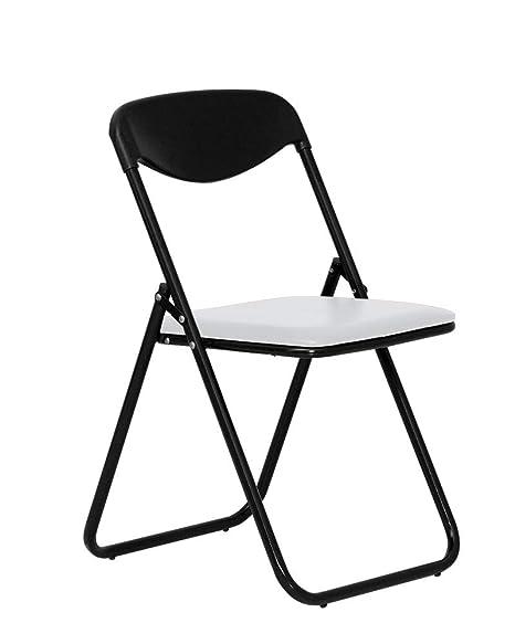 CHAISE-EXPERT Jack Black - Juego de 4 sillas de Cocina ...
