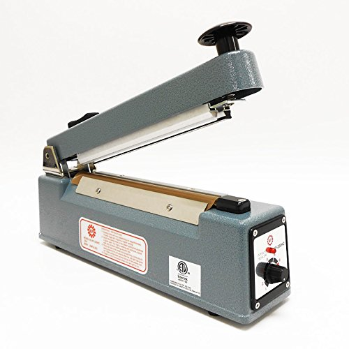 SealerSales KF-200HC 8'' Heat & Bag Sealer w/ Cutter & 2mm Seal from ABC Office by KF