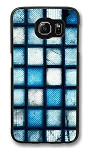 Armenia difficult blue PC Case Cover for Samsung S6 and Samsung Galaxy S6 Black