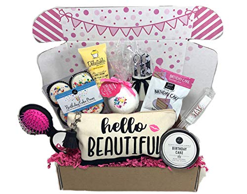 Women's Birthday Gift Box Set 9 Unique Surprise Gifts For Wife, Aunt, Mom, Girlfriend, Sister from Hey, It's Your Day Gift Box Co. -