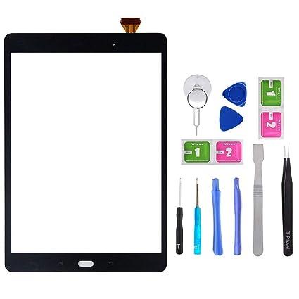 Nuevo Digitalizador con Pantalla Táctil para Samsung Galaxy Tab 10.1 SM-T580 T585 Negro Teléfonos móviles: recambios