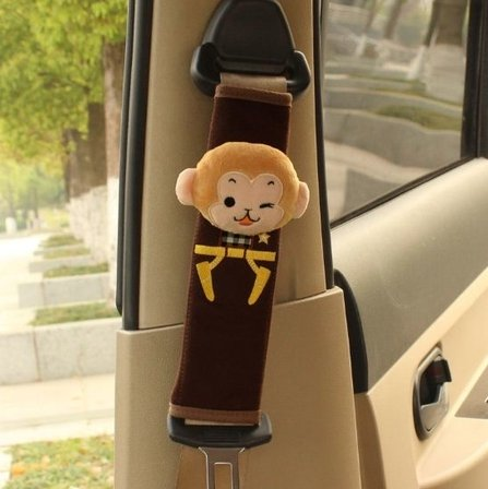 [Seat Belt Shoulder Monkey A Must Have for All Car Owners for a More Comfortable Driving Size: 6 22] (Korean Culture Costume)