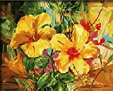 Diy oil painting, paint by number kit- Lily love 1620 inch.