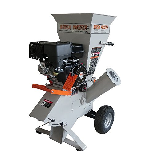 DEK CH9M15 Gas Wood Chipper 5''-3.5'' Diameter Feed with Electric Start Commercial Duty Chromium by Dek