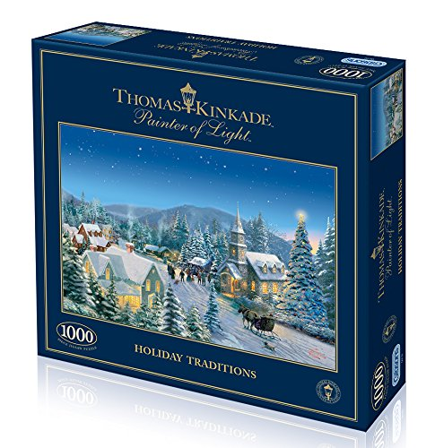 Thomas Kinkade - Holiday Traditions 1000pc by Gibsons