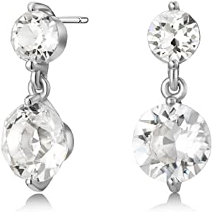 Mestige Women Glass Natalie Earrings with Swarovski Crystals