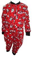 Disney Minnie Mouse Little Girl's Red Onesie Pyjamas