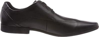 Clarks Glement Over, Zapatos de Cordones Derby para Hombre