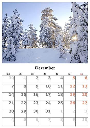 Home Comforts Framed Art for Your Wall Calendar Month December 2015 December Vivid Imagery 10 x 13 Frame