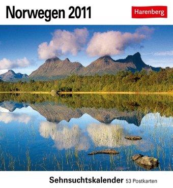 Norwegen 2011: Sehnsuchts-Kalender. 53 heraustrennbare Farbpostkarten