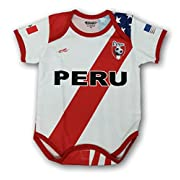 Arza Sports Peru Soccer Baby Outfit mameluco One Piece Jumpsuite Proud