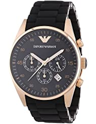Emporio Armani Mens AR5905 Black Stainless Steel Watch