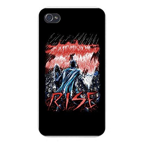 Apple iPhone Custom Case 5 / 5S White Plastic Snap On -