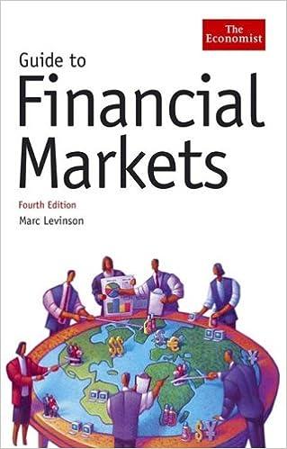 Guide To Financial Markets Fourth Edition Economist Books Levinson Marc 9781576602010 Amazon Com Books