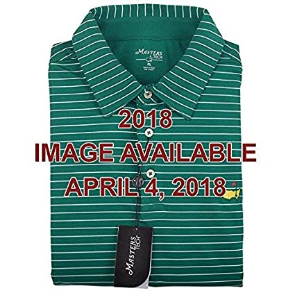 9bacc290 Image Unavailable. Image not available for. Color: Eureka Golf Products  2018 Masters Green Tech Collection Shirt (Small)