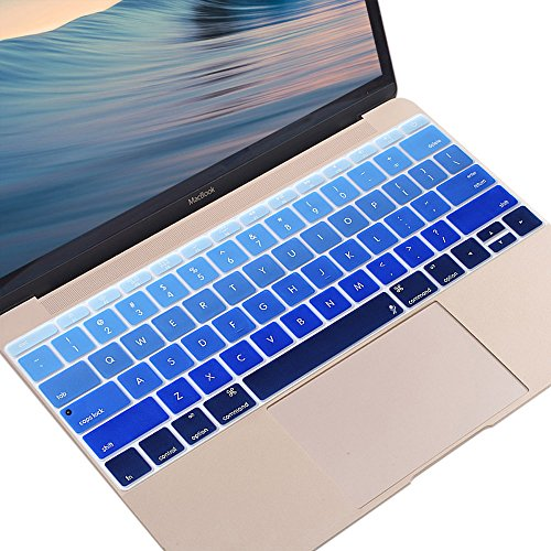 ProElife 2016-NEW Ultra Thin Silicone Keyboard Skin Cover for MacBook Pro 13