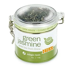 Adagio Teas Green Jasmine, 4-Ounce Tins (Pack of 2)